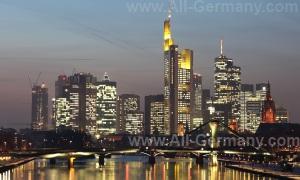 Достопримечательности Франкфурта-на-Майне, Германия.