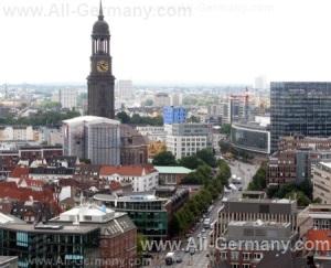 Достопримечательности Гамбурга, Германия.