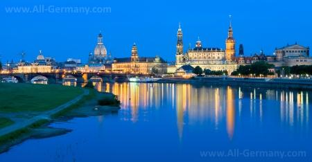 Сказочно красивый Дрезден