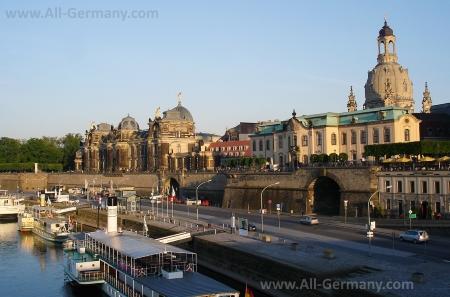 Набережная Дрездена