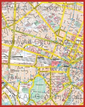 Карта Берлина на русском языке