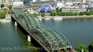 Достопримечательности Кёльна, Германия.