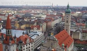 Достопримечательности Мюнхена, Германия.