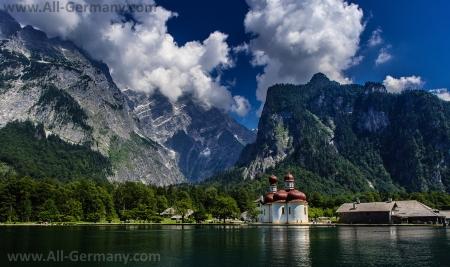 Баварские Альпы и чистейшие озера